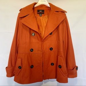 Miss Sixty Orange Pea Coat